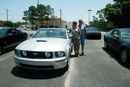 Laura and Larry Bizek 2009 45th anniversary edition GT